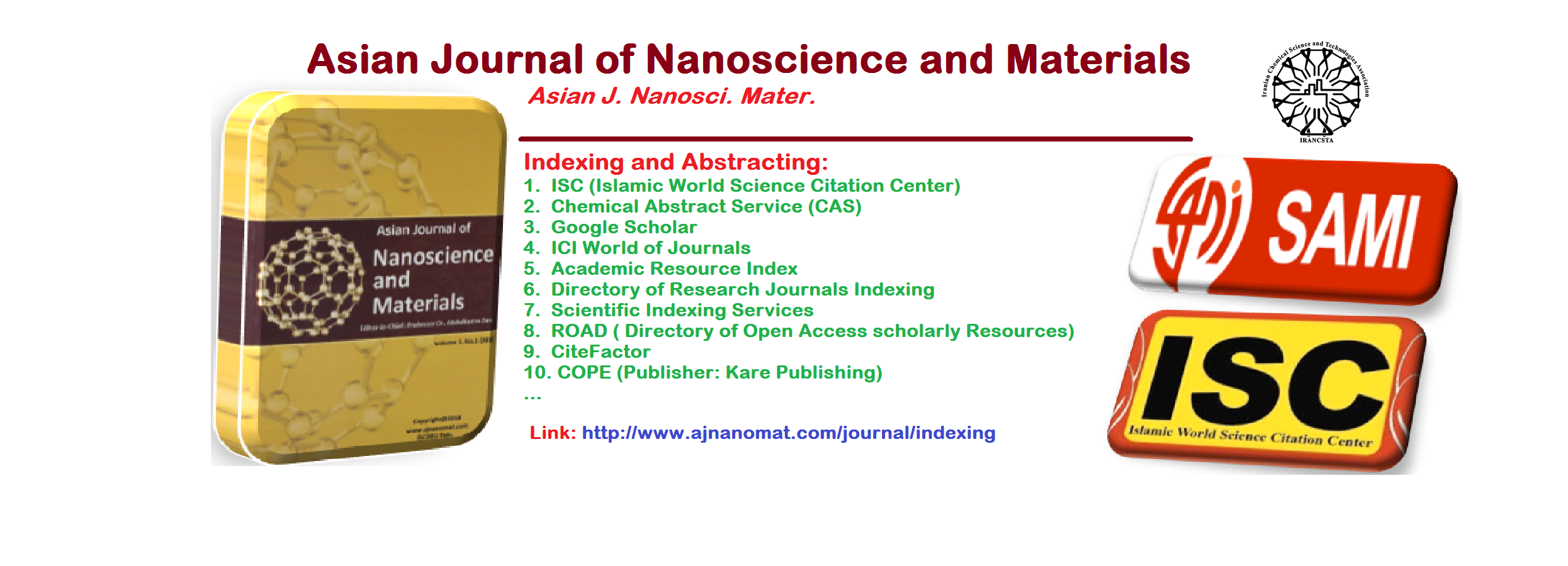 Asian Journal of Nanoscience and Materials