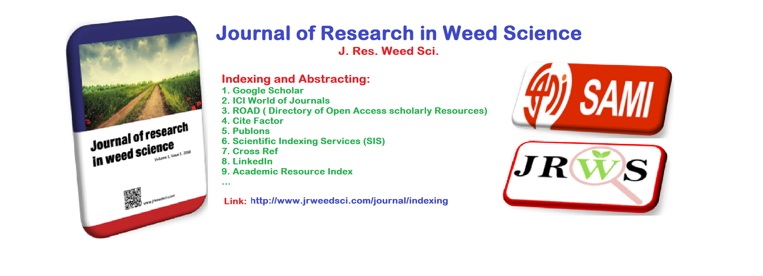 Journal of Research in Weed Science